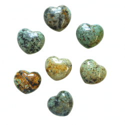 African Turquoise Heart