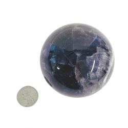 methyst Sphere 211 with Quarter
