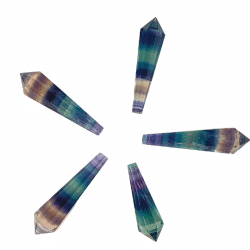 Fluorite High Quality Faceted Point