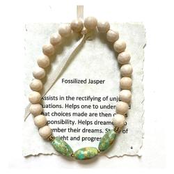 Fossilized Jasper Bracelet