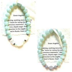 Green Angelite Bracelet Cover Photo