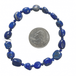 Lapis Lazuli Bracelet - smal and big beads