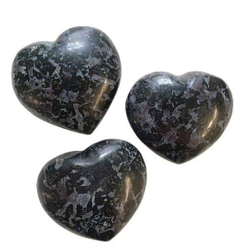 Merlinite Indigo Gabbro Heart