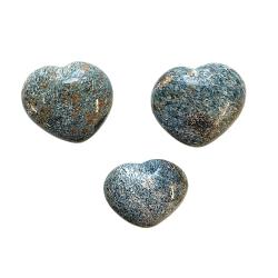 Blue Green Kyanite Heart Cover