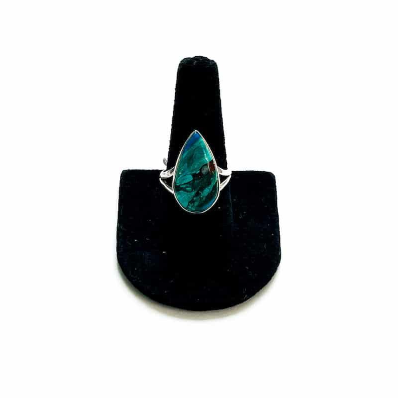 Peruvian Blue Opalina Ring – Size 9