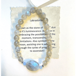 Labradorite Bracelet #3