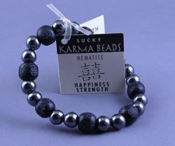 Hematite Bracelet for Happiness and Strength
