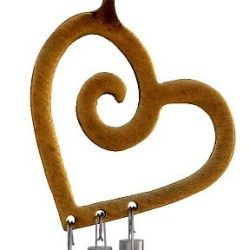 Musical Heart Car Chime