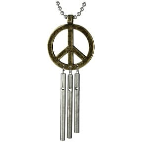 Musical Car Chime - Peace Sign